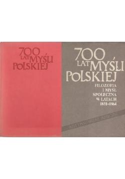 700 lat myśli Polskiej, zestaw