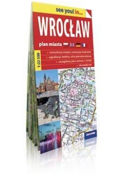 See you! in ... Wrocław 1:22 500 plan miasta