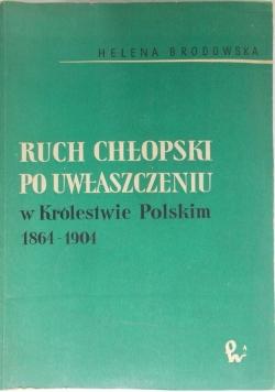Ruch chłopski po uwłaszczeniu w Królestwie Polskim 1864-1904