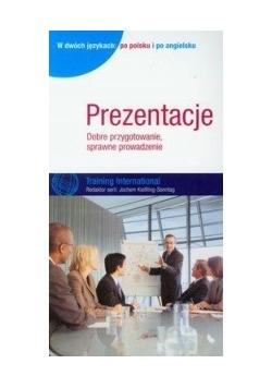 Prezentacje: Dobre przygotowanie, sprawne prowadzenie. Wydanie dwujęzyczne: po polsku i po angielsku
