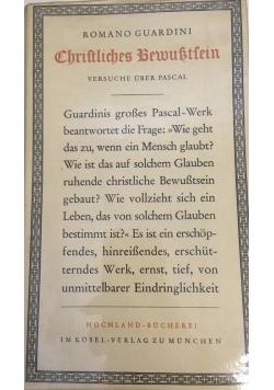 Christliches Bewusstsein, 1950 r.
