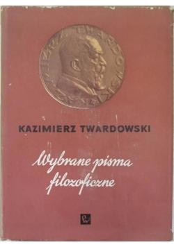 Wybrane pisma filozoficzne