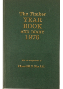 The Timber year book and diary 1976