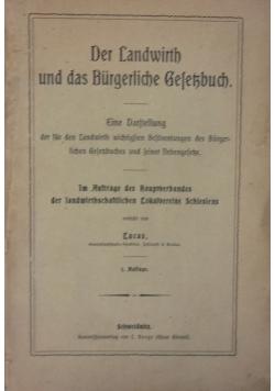 Der Landwirth und das Burgerliche Gesetzbuch, 1902 r.