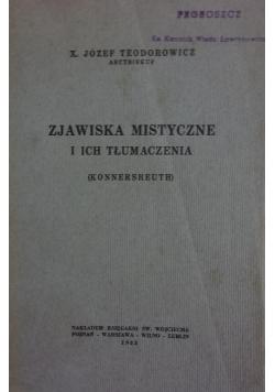 Zjawiska mistyczne i ich tłumaczenia, 1933 r.,