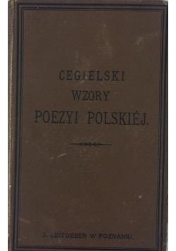 Wzory poezyi Polskiej, ok. 1869 r.