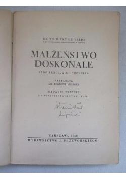 Małżeństwo doskonałe, 1948 r.