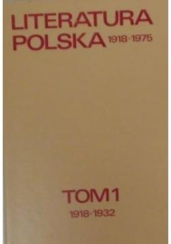 Literatura polska 1918-1975