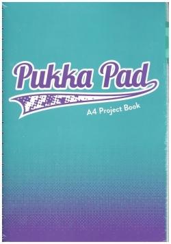Project Book Fusion A4/200 kr morski (3szt) PUKKA