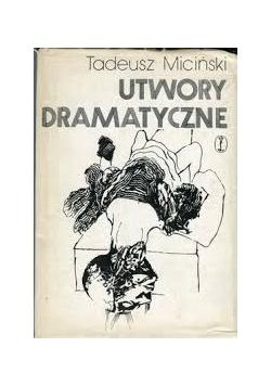 Utwory dramatyczne, tom 3