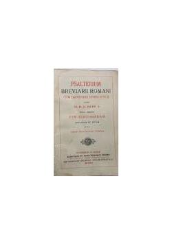 Psalterium Breviarii Romani ,1912r