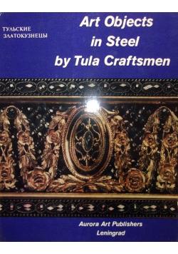Art object in steel by tula craftsmen