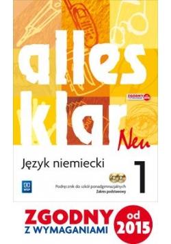 Alles Klar Neu 1 podr ZP + CD w.2015 WSiP