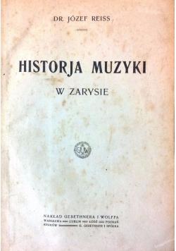 Historia muzyki w zarysie, 1921 r.