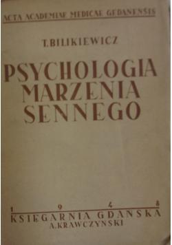 Psychologia marzenia sennego, 1948 r.