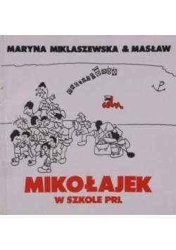 Mikołajek w szkole PRL