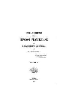Storia delle missioni francescane, volume I, 1857r.