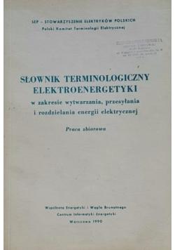 Słownik terminologiczny elektroenergetyki
