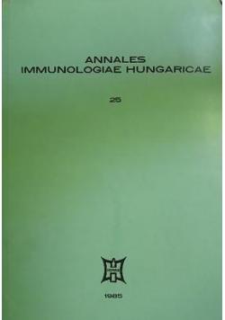 Annales Immunologiae Hungaricae