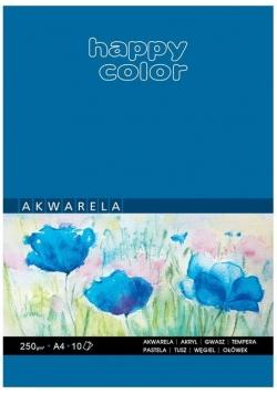 Blok akwarelowy ART A4/10K 250g Happy Color