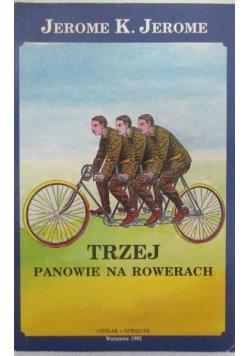 Trzej panowie na rowerach
