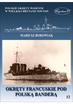 Okręty francuskie pod polską banderą