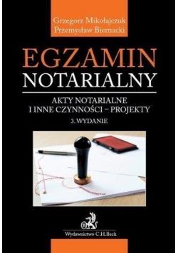 Egzamin notarialny