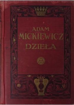 Dzieła Adama Mickiewicza tom II