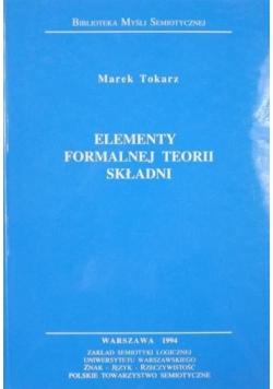 Elementy formalnej