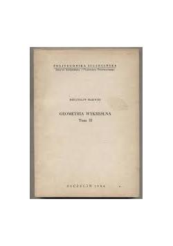 Geometria wykreślna,Tom II