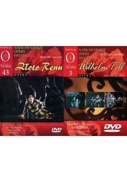Kolekcja La Scala 3,43, opera, dvd