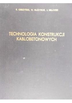 Technologia Konstrukcji Kablobetonowych
