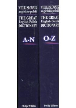 Wielki słownik angielsko - polski - Zestaw 2 książek