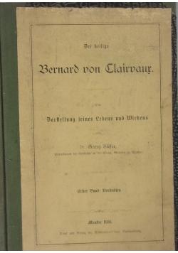Der heilige Bernard don Clairaur 1886 r .