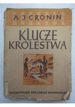 Cronin A.J. - Klucze królestwa. Antyk 1949 r.