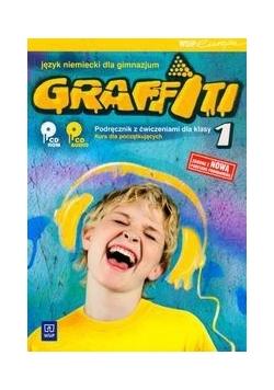 Graffiti 1: język niemiecki; podręcznik z ćwiczeniami z płytą CD, nowa