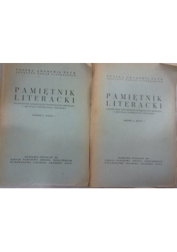 Pamiętnik literacki rocznik L, zeszyt 1, 2