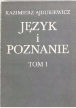 Język i poznanie Tom I