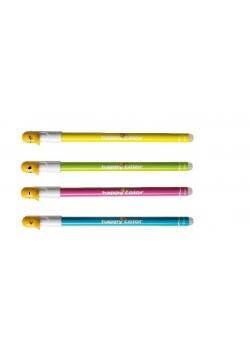 Długopis usuwalny niebieski Kaczki (12szt) HAPPY