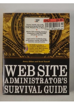 Ablan Jerry - Web Site Administrator's Survival Guide, płyta CD