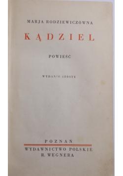 Kądziel, powieść , 1923 r.