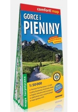 Comfort! map Gorce i Pieniny 1:50 000 w.2018