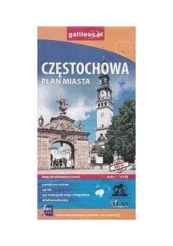 Plan miasta - Częstochowa 1: 16 000