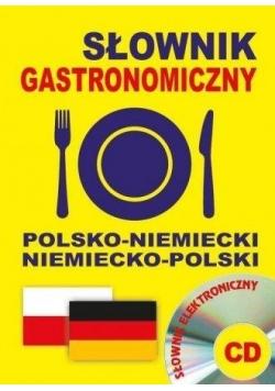 Słownik gastronomiczny pol-niem, niem-pol + CD
