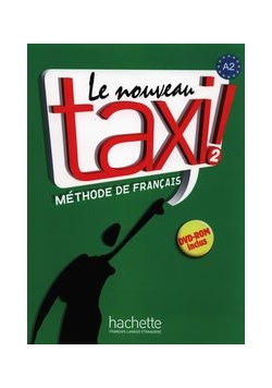 Le Nouveau taxi! 2 Podręcznik z płytą DVD