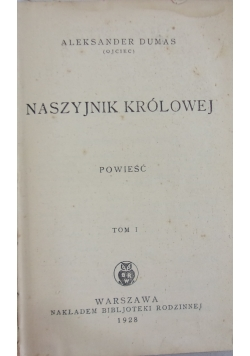 Naszyjnik królowej, T. I, wyd. 1928 r.