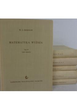 Matematyka wyższa. Zestaw 6 książek