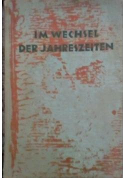 Im wechsel der jahreszeiten, 1937 r.