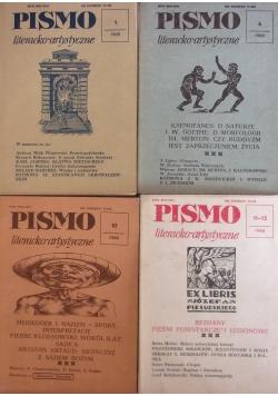 Pismo literacko-artystyczne, nr 1,6,10,11-12 1988r.