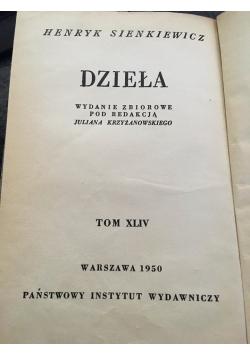 Dzieła Tom XLIV, 1950 r.